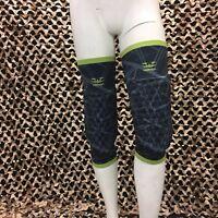NEW Valken Agility Paintball Padded Knee/Shin Pads - Black - XL