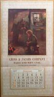 Stevens Point, WI 1917 16x29 Advertising Calendar/Poster: Coal - Gross & Jacobs