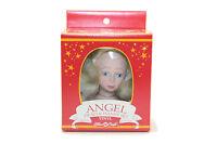 1991 Fibre Craft Vinyl Angel Head & Hands Set for Soft Body Doll Tree Top  - NOS