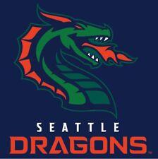XFL Seattle Dragons outdoor / Indoor Flag Banner XFL-3x5 With Grommets NEW!!