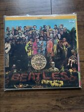 The Beatles Vintage Vinyl Sgt. Peppers Gatefold Cut Outs SMAS X-1-2653