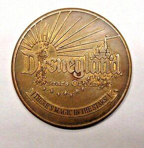 Disneyland 45 Years Of Magic 2000 Walt Disney Travel Co. Coin Mickey Mouse