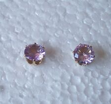 Sparkly Round Stud Earrings - Ideal for Children - Colour Choice
