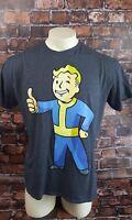 Fallout Boy Gamers Graphic Tee Shirt Men Size XL Short Sleeve Gray