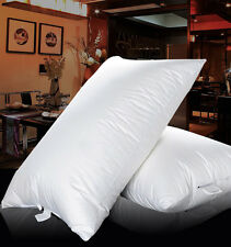 King Size 100% SIBERIAN Goose Down Filled Pillow,1800TC  Egyptian Cotton Cover