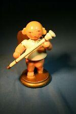 Erzgebirge Ulbricht Musical Angel Germany Christmas Figurine Bassoon #8