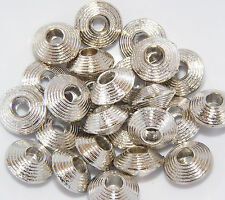 """Flying Saucer"" Rondelle Spacer Beads - 10mm (BD056) FREE POSTAGE"