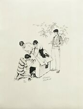 """NORMAN ROCKWELL """"FIDO'S HOUSE"""" 1976 