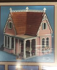 "GREENLEAF ""Coventry Cottage"" WOOD DOLLHOUSE KIT * FURNITURE & SHINGLES INCLUDED!"