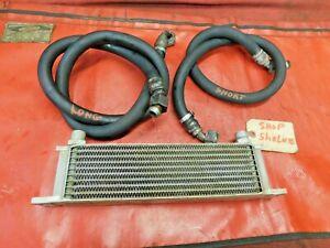 MG Midget, Sprite, Oil Cooler & Oil Lines, 10 Row, !!