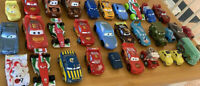 Disney Pixar Cars Lot of 30  Plastic Lightning McQueen Mater
