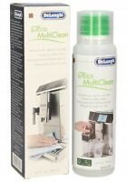 DELONGHI MILK CLEAN DEGREASER SER3013 250ML For Cappuccino Maker Spouts Frothers
