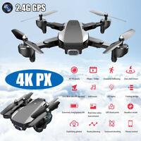 J1 GPS 2.4G WIFI FPV 4K HD Video Camera Wide Angle Foldable RC Quadcopter Drone
