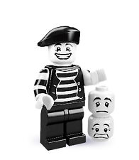 Lego 8684 Minifig Series 2 - Mime