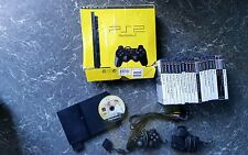 Ps2 slim console boxed working plus 21 games