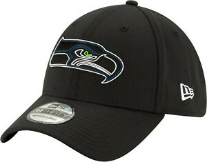 Seattle Seahawks NFL We Are 12 Football Draft New Era 39THIRTY Black Cap Hat S/M