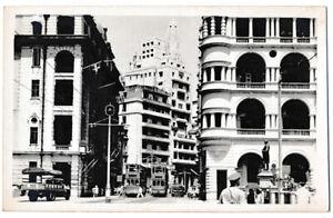 Real Photo Vintage Postcards of Hong Kong--Street Scene #2