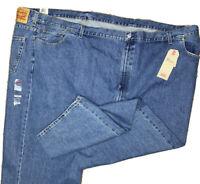 Levis 550 Relaxed Fit Tapered Leg Medium Wash Jean Men Sz 66x34 NWT
