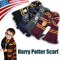 Harry Potter Hogwarts Adult Child Robe Cloak Scarf Tie School Cosplay Costumes