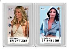 Lucy Lawless rare MH Bright Leaf #'d 2/3 Tobacco card no. 597