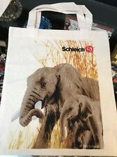 SCHLEICH COTTON TOTE BAG - SMALL - Perfect To Put All Your Schleich Toys In! New