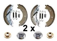 2 x Knott Bremsbackensatz 200x50 20-2425/1 47276 4 x Flanschmutter 4 x Fettkappe