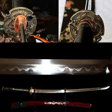 Top quality real Shihozume structure Japanese samurai katana battle ready sword.