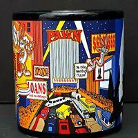 Looney Tunes Coffee Mug Las Vegas Taz Tweety Bugs Bunny Daffy Duck Buffet Loans