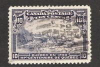 #99 - Canada - 1908 -  10 Cent - Used  - VF - superfleas
