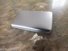 Original Nokia 6300 Edelstahl Akkudeckel Abdeckung B-Cover Deckel Silber NEU NEW