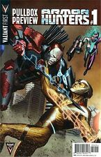 Valiant First Pullbox Preview - Armor Hunters #1 Rare 2014 Promo Giveaway Nm