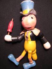 Antique Toy Original Disney Wooden Jiminy Cricket Doll