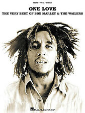 One Love Very Best Of Bob Marley And The Wailers Play Piano PVG Music Book