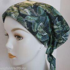 Cancer Chemo Hat Hair loss Alopecia Cotton Scarf Turban Head Wrap Butterflies