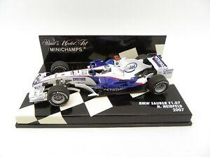 BMW Sauber F1.07 Nick Heidfeld #9 2007 MINICHAMPS 1/43 F1 Formula 1
