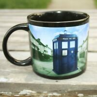 Dr. Doctor Who Disappearing Tardis Heat Changing Coffee Ceramic Cup Mug BBC