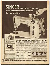 Singer sewing vintage ads apologise