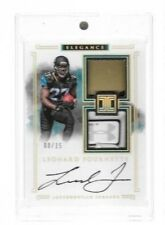 2017 Impeccable Leonard Fournette Helmet Under Armour Tag Auto Rc Serial # to 15