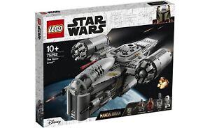 Lego?m 75292 Star Wars The Mandalorian Bounty Hunter Transport Razor Crest New
