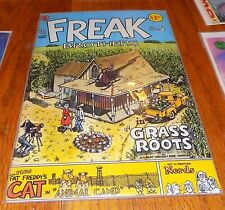 1977 Rip Off Press Freak Brothers #5 Shelton Underground Comix Comic Book 70s