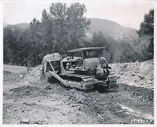 RUSSEL c. 1950 - Caterpillar Tractor D8 avec Bulldozer Massachusetts - GF 215