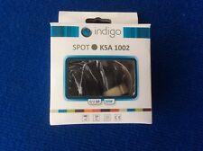 Spot à encastrer Indigo KSA 1002 sur trou de 60 mm  Couleur nickel satiné  NEUF
