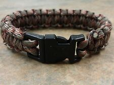 Elite Forces M48 Paracord Survival Bracelet Forest Camo United Cutlery