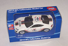 St Kilda Saints 2014 Afl Collectable Toyota 86 Coupe Model Car New