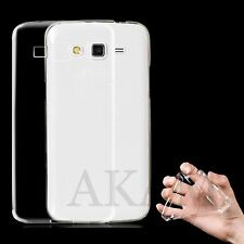 Samsung Galaxy Grand 2 G7102 SOFT SILICONE CRYSTAL CLEAR GEL FLESSIBILE CASE COVER