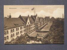 Ansichtskarte Wilhelmshaven - 1. Torpedo - Kaserne, Echtfoto Feldpost 1917