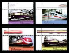 2560-2563 **, Wohlfahrtssatz 2006, Eisenbahnen, Eckrand o.l. postfrisch
