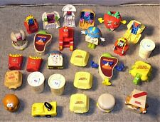 27 Vintage 1987-1993 McDonalds Happy Meal Toys-Changeables-Transformers-Other