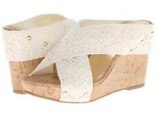 """Madden Girl Nautic platform wedge sandal 4"""" heels sz 8.5 Med NEW"""