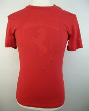 Puma Ferrari Big Shield Tee Red T-Shirt Men's Small S